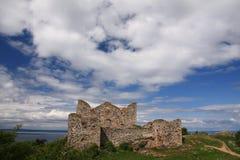 Ruins in Sweden Stock Image