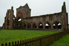 Ruins of Sweetheart Abbey Stock Image