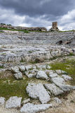 Ruins in Syracuse Royalty Free Stock Photo