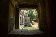 Ruins of Ta Prohm temple. Ruins of  Ta Prohm temple in Angkor Wat, near Siem Reap, Cambodia, South East Asia Stock Photography