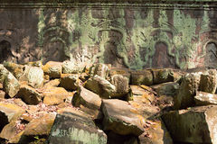Ruins of Ta Prohm temple. Ruins of  Ta Prohm temple in Angkor Wat, near Siem Reap, Cambodia, South East Asia Royalty Free Stock Photo
