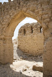 Ruins in Tanuf Oman. Image of historic ruins in the town Tanuf in Sultanate Oman, middle east Stock Images