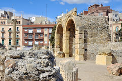 Ruins in Tarragona, Spain Royalty Free Stock Images