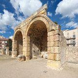 Ruins in Tarragona, Spain Stock Photography