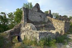 Ruins of Tatika castle, tele Royalty Free Stock Photography