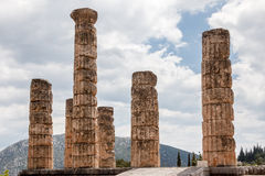 Delphi Greece Temple Stock Photos