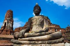 Ruins the temple,Ayutthaya Historical Park, Thailand. Ruins the temple,Ayutthaya Historical Park, in Thailand Stock Image