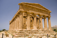 The ruins of Temple of Concordia Royalty Free Stock Image