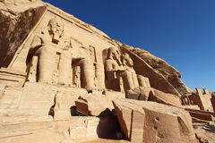 Ruins of temple in Nubia, Egypt Stock Photography