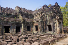 The ruins of the temple of Preah Khan Royalty Free Stock Photo