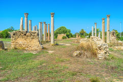The ruins of temple Stock Photography