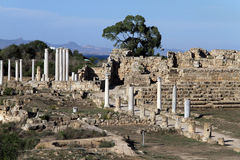 Ruins in Salamis Royalty Free Stock Image