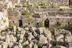 Ruins of the temple of Selinunte Royalty Free Stock Image