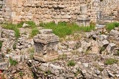 Ruins Temple of Serapis in Jerusalem. Ruins of the Temple of Serapis in Jerusalem Stock Photos