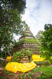 Ruins of temple in Sop Ruak, Northern Thailand Stock Photos