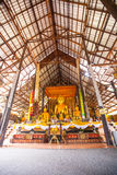 Ruins of temple in Sop Ruak, Northern Thailand Royalty Free Stock Images