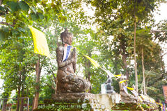 Ruins of temple in Sop Ruak, Northern Thailand Royalty Free Stock Image