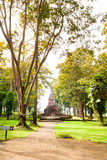 Ruins of temple in Sop Ruak, Northern Thailand Royalty Free Stock Photos
