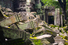Ruins of a temple Royalty Free Stock Photography