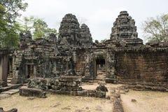 Ruins and temples of Angkor Wa, Cambodia Royalty Free Stock Photo
