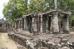 Ruins and temples of Angkor Wat. Siem Reap, Cambodia Stock Images