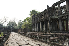 Ruins and temples of Angkor Wat. Siem Reap, Cambodia Royalty Free Stock Images