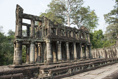 Ruins and temples of Angkor Wat. Siem Reap, Cambodia Stock Photos