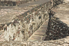 Ruins of Templo Mayor of Tenochtitlan. Mexico City. Ruins of Templo Mayor of Tenochtitlan in Mexico City Stock Photos