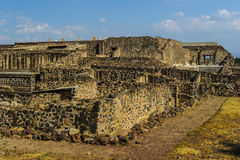 Ruins of Teotihuacan, Mexico Royalty Free Stock Photography