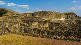 Ruins of Teotihuacan, Mexico Stock Photos
