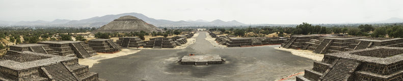 Ruins of Teotihuacan Royalty Free Stock Photography