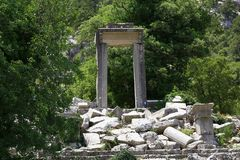 Termessos Antic City, Antalya, Turkey Royalty Free Stock Images