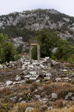 Ruins of Termessos near Antalya, Turkey Royalty Free Stock Image