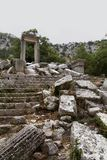 Ruins of Termessos near Antalya, Turkey Royalty Free Stock Photography