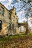 Ruins of the Teutonic fortified manor Royalty Free Stock Photography