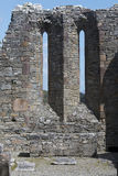 Ruins of 7th century Innisfallen Abbey on Innisfallen Island Royalty Free Stock Images
