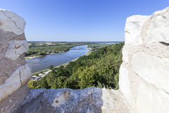 Ruins of 14th century Kazimierz Dolny Castle,  defensive fortification, Poland Stock Photo