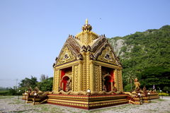 Ruins in Thailand. Historic architecture of Thailand's creative crafts Royalty Free Stock Images