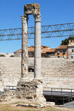Ruins of Theatre of Arles Stock Images