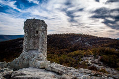 Ruins Of Thracian Fortress Stock Photos
