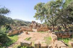 Ruins of TipasaTipaza.The antic city was a colonia in Roman province Mauretania Caesariensis locat Royalty Free Stock Photography