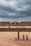 Ruins of Tiwanaku, Bolivia royalty free stock photos