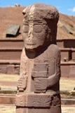 Ruins of Tiwanaku stock photography