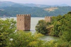 The Ruins of Trikule Citadel Royalty Free Stock Photos