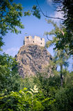 Ruins of Trosky castle Royalty Free Stock Photo