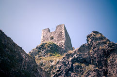 Ruins of Trosky castle Royalty Free Stock Image