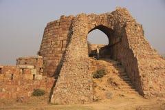Ruins of Tughlaqabad Fort, New Delhi Royalty Free Stock Photos