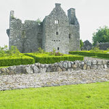 Ruins of Tully Castle Stock Photography