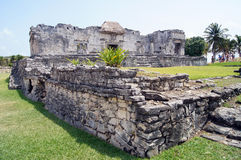 Ruins in Tulum Royalty Free Stock Images