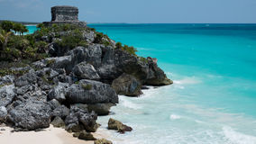 Ruins of Tulum Stock Image